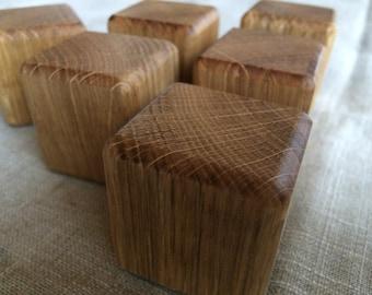 15 Natural Oak Wood Blocks, Oak Wooden Blocks, Natural Wood Blocks, Natural Wood Building Blocks, Wooden Building Blocks