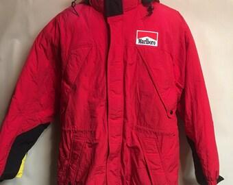 Vintage Marboro Mens Medium Winter Parka Jacket