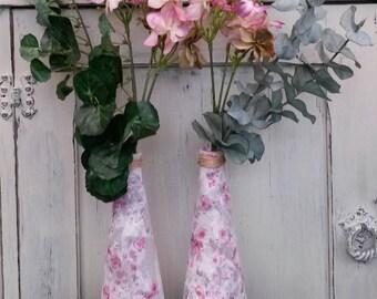 Vases, pair of vases