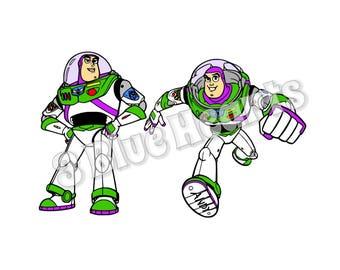 Buzz Lightyear SVG Studio dxf pdf png jpg, Toy Story
