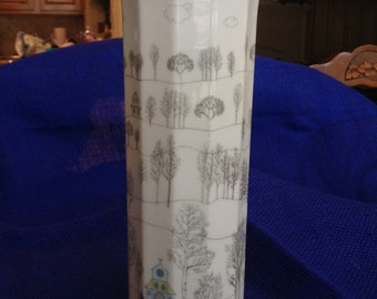 "Rosenthal ""Winterreise"" Vase"