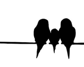 Bird Stencils Etsy