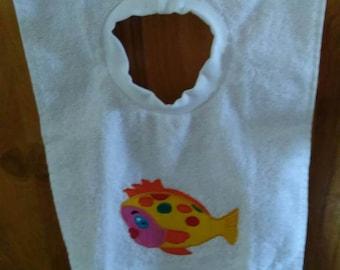 Baby Tea Towel Bib