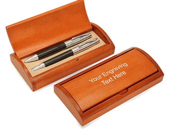 Personalized Executive Ball Pen and Pencil Set - S6326A