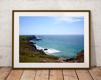 Kynance Cove Photos, Kynance Photography, Photos Kynance Cove Cornwall, Kynance Cove Print, Wall Decor For Bathroom, Wall Decor Bathroom