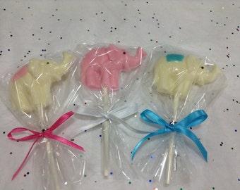30PcsFavors Party Lollipop Elephant