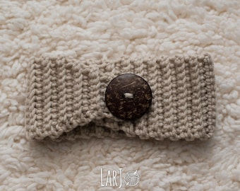 Child-Sized Satin-Lined Ear Warmer // Protective Winter Headband for Natural Hair Girls
