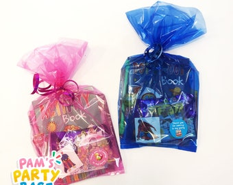 Pre-filled Boys & Girls Party Bags