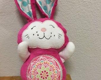 Bunny stuffed animal plush ready to ship handmade