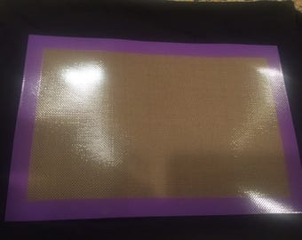 Purple Half Sheet Pan Baking Mat