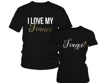 Engagement Couple Shirts