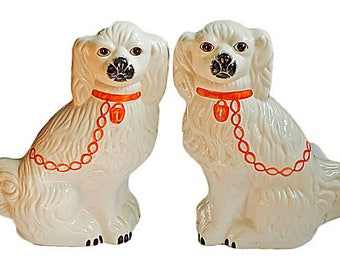 Pair of Spaniels - Made in Italy