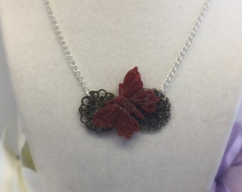 Harmony - Butterfly Necklace