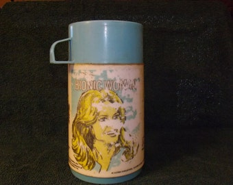 Vintage  Bionic WomanThermos