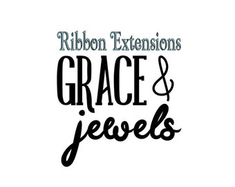 Hair Bow Holder Add-On:  Ribbon Extensions