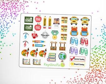 School Planner Stickers