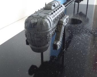 Event Horizon spaceship 1/4000 scale model