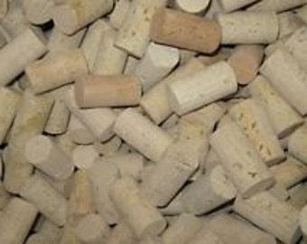 100 Unused Wine Corks (Blank/Not Printed)