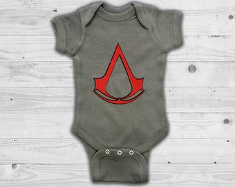 Assasin's Creed Baby gamer bodysuit / outfit