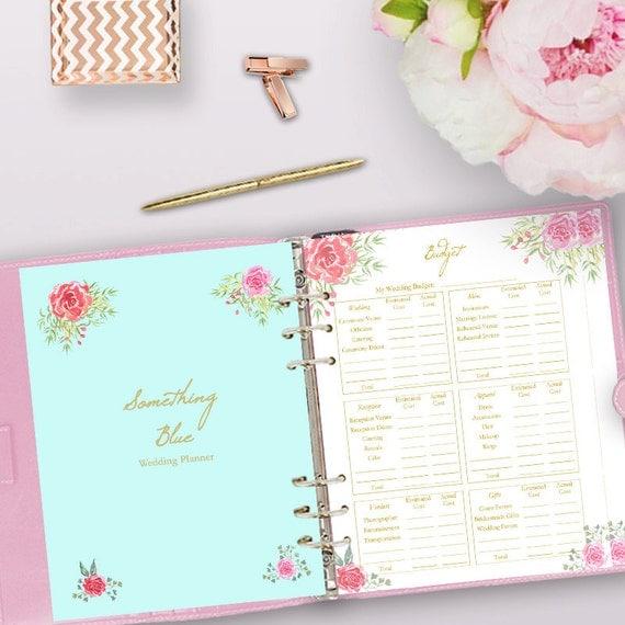 Free Wedding Book: Wedding Planner Printable Wedding Planner Book Binder