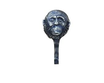 Coat Hook Monkey Brass