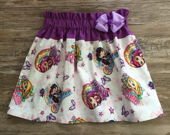 Little Charmers Skirt, Little Charmers Girls Skirt, Skirt With The Little Charmers