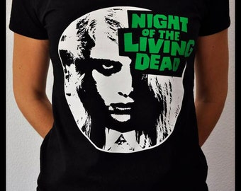 Night of the Living Dead T-shirt woman M size ***Last unit*** - Horror classic zombie movie