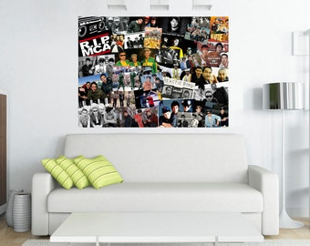 Beatie Boys Canvas Collage - Through the Hip Hop Years - Old School Rap