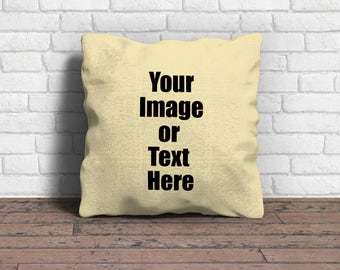Custom cushion cover, Personalised pillow, Design your own cushion, Personalised gift, Photo cushion