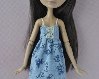 Handmade  outfit-dress for Monster High,Ever After High dolls