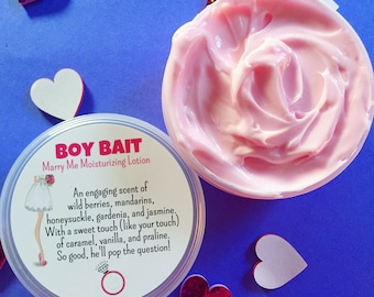 SALE! Boy Bait Marry Me Moisturizing Lotion - Hand & Body Cream - Body Frosting - Lotion - Being Discontinued!