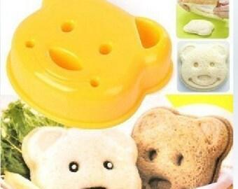 Teddy Bear Sandwich Cutter