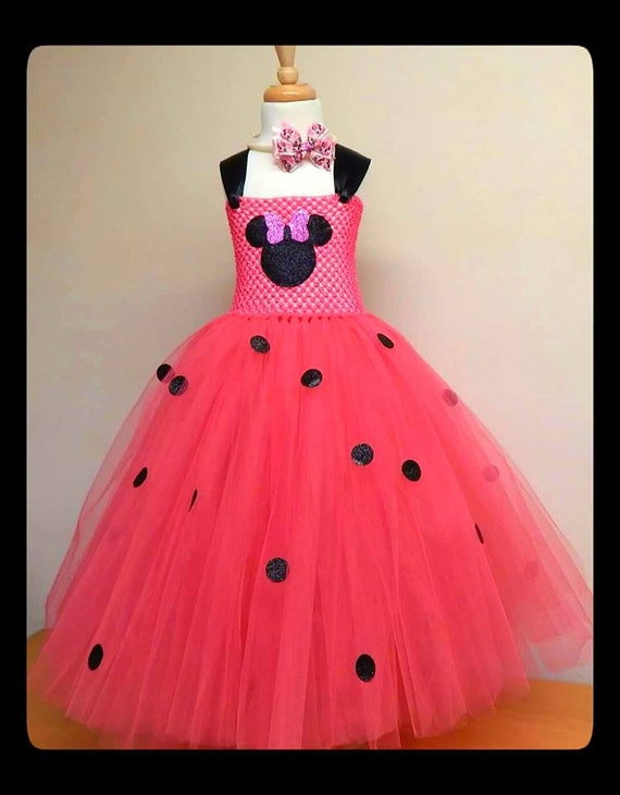 Minnie Mouse Tutu Dress Minnie Mouse Outfit Minnie Mouse