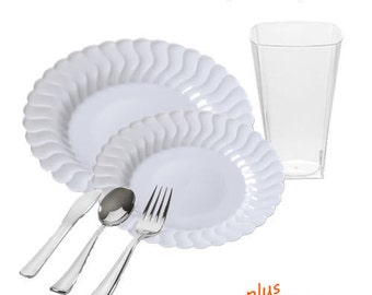 Flaired White VALUE Party Package