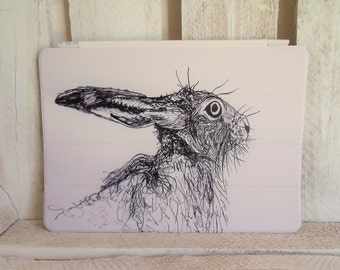 Hare ipad Air Cover (for generations 1 & 2)