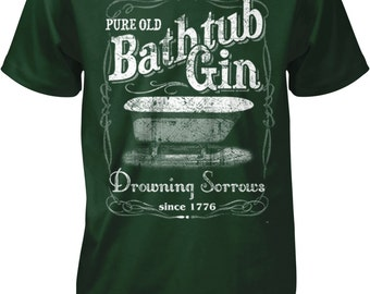 Bathtub Gin, Moonshine Men's T-shirt, NOFO_00442