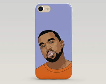 Kanye West Phone Case, Kanye Iphone Case, Kanye West Merch, Kanye Art, Iphone Case, Case Iphone, Popculture, Gift for teenager, Hip Hop Gift