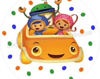 TEAM UMIZOOMI Iron on transfer T-shirt image