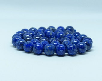 Lapis Lazuli - 8mm 10/50/100 - amount to choice - Non Foundation - beads round Lapis Lazuli 8 mm - Lapis Lazuli Non Foundation