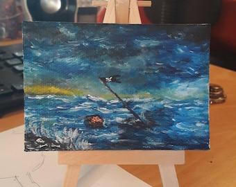 The smaller sinking world