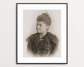 Ida B. Wells Photo - Feminist Art - American Suffragist - Civil Rights - African American Activist - Women Activist - Womens Rights - Print