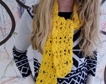 Hand-Crochet Scarf
