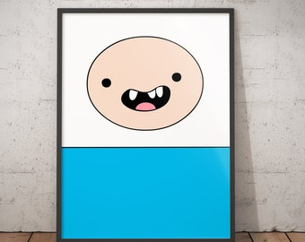 Adventure Time Jake Full Page Printable. Instant Digital Download. Print Me At Home.