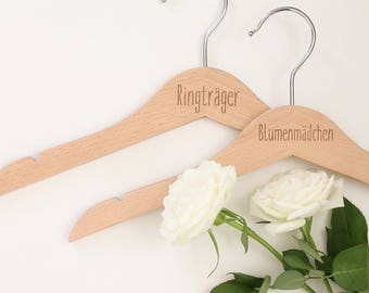"CHILDREN HANGER ""Flower girl"" or ""Ring bearer"""