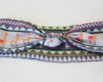 Llama Print Headband