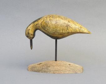 Hand carved Antique style Shorebird Decoy