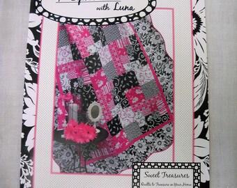 Hot Pink & Black Quilt Kit