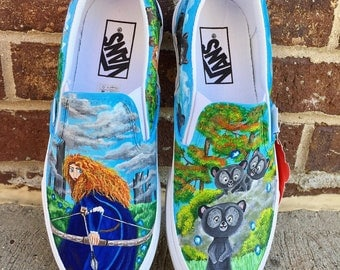 Disney Brave painted shoes