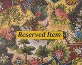 Reserved For Terri - Hand-painted Dollshouse Miniature Jug & Bowl - Pink