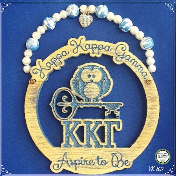 "Kappa Kappa Gamma  (4"" painted)"